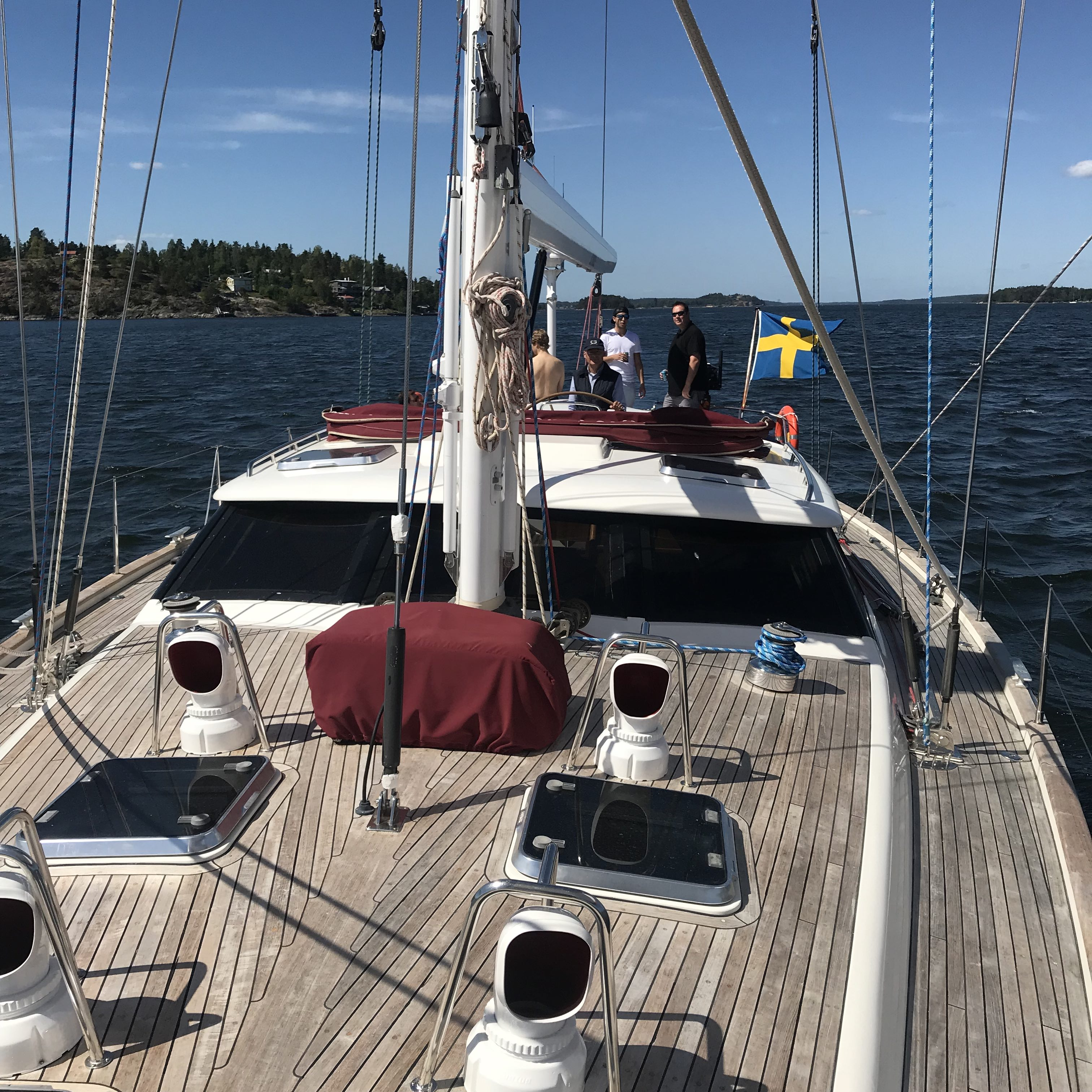 Båtcharter med Farr 60.